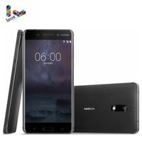Original Nokia 6 Dual SIM Android Smartphone 4GB RAM 64GB ROM Octa Core Fingerprint 5.5 1080P 16MP 4G LTE Unlocked Mobile Phone