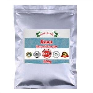 Image 3 - Stress verwandte Angst, Organischen Kava Extrakt Pulver, 100% Reine Natürliche Kavakava, hohe Qualität Import Aus China, freies Verschiffen
