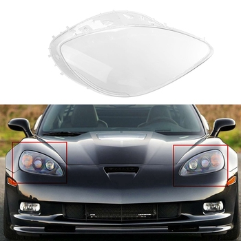 Headlight Replacement Lens Passenger Side for Chevy Corvette C6 2005 2006 2007 2008 2009 2010 2011 2012 2013