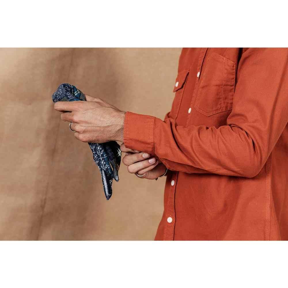 SIMWOOD 2019 otoño nueva camisa de bolsillo de carga hombres 100% algodón casual camisetas de manga larga talla grande ropa de alta calidad 190376
