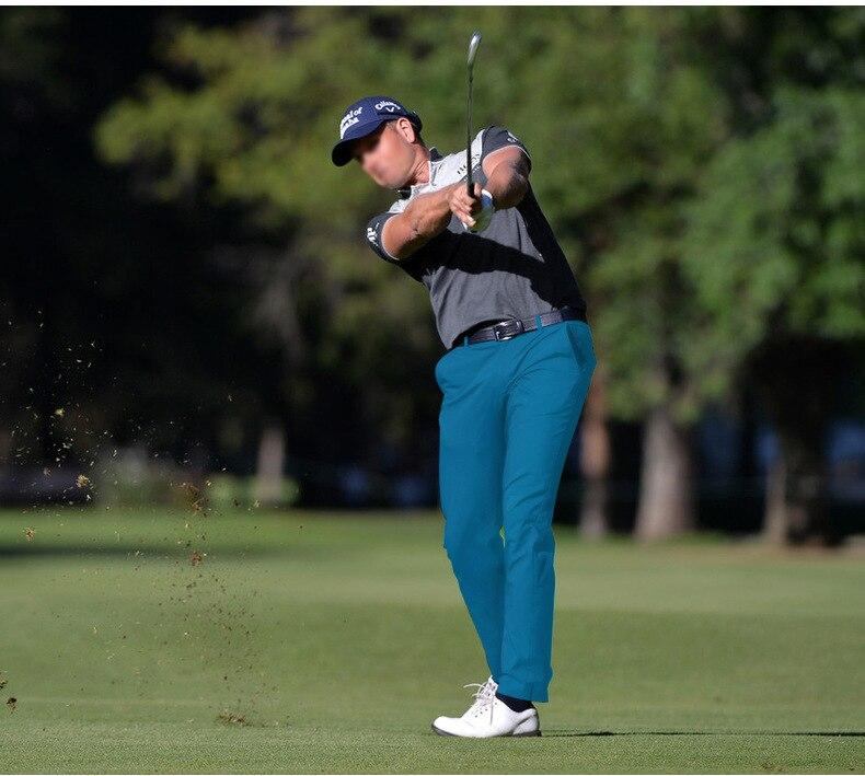 2020 nova pgm calças de golfe masculina