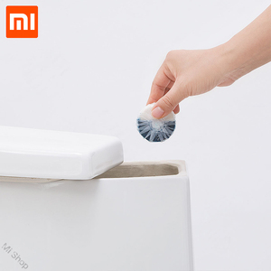 Image 1 - Xiaomi Mijia Disposable Magic Automatic Flush Toilet For Cleaner Helper Fragrant Ball Blue Bubble Cleaning Deodorizes Clean