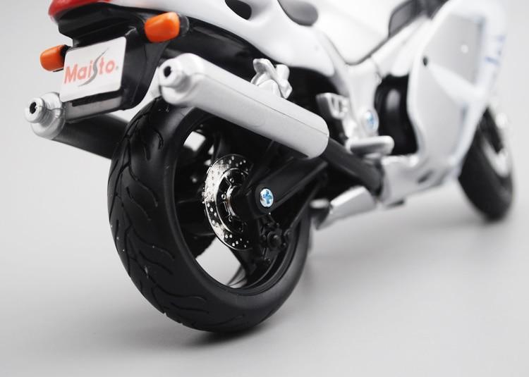 Image 4 - Maisto 1/12 Suzuki GSX1300R Motorcycle Motorbike Diecast Display Model Toy For Kids Boys GirlsDiecasts & Toy Vehicles   -
