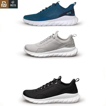 Youpin FREETIE Sports Shoes Lightweight Ventilate Elastic Knitting Breathable Refreshing City Running Sneaker for xiaomi