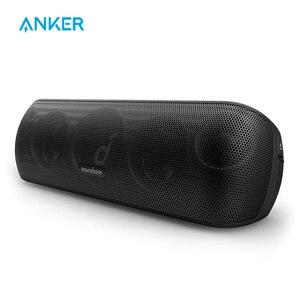 Anker Soundcore Motion + bluetooth-динамик с Hi-Res 30 Вт аудио, расширенные басы и высокие частоты, беспроводная HiFi Портативная колонка
