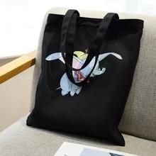 Disney Dumbo handbag female 2019 new simple canvas bag tote bag shoulder bag lady bag casual shopping bag