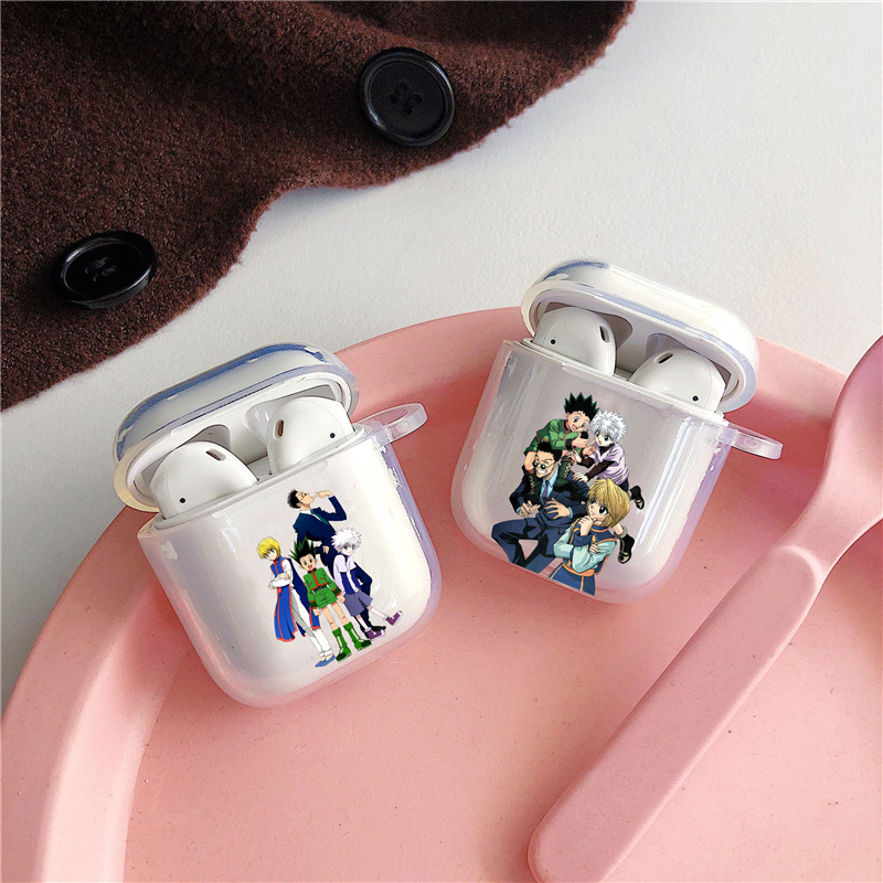 Hunter x Hunter HXH Anime Hunter X hunter 3 Hisoka Morow Airpod Case for Airpods 2 1 Cases For Air pod Clear Cute Soft Coque(China)