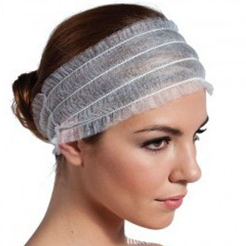 1/5/10/20Pcs Disposable Stretch Non-Woven Headband Women Girls SPA Salon Makeup Hotel Wide Hairband Travel Portable Turban
