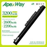 Apexway 14.8V Bateria Do Portátil Para HP Pavilion 14 15 350 Série LA04 HSTNN-UB5M HSTNN-UB5N HSTNN-Y5BV TPN-Q129 TPN-Q130 728460-001
