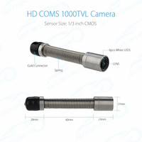 HD CMOS 1000TVL 17mm CAMERA head Replacement Parts and Accessories for Inspection Equipment Support Take Photo and Record Video