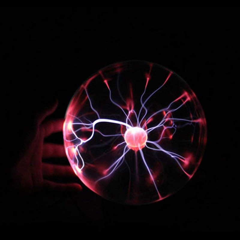 Led Lamps Home Office USB Charging Plasma Ball Light Personality Touching Lamp Indoor Spheres Magic Crystal Ball #