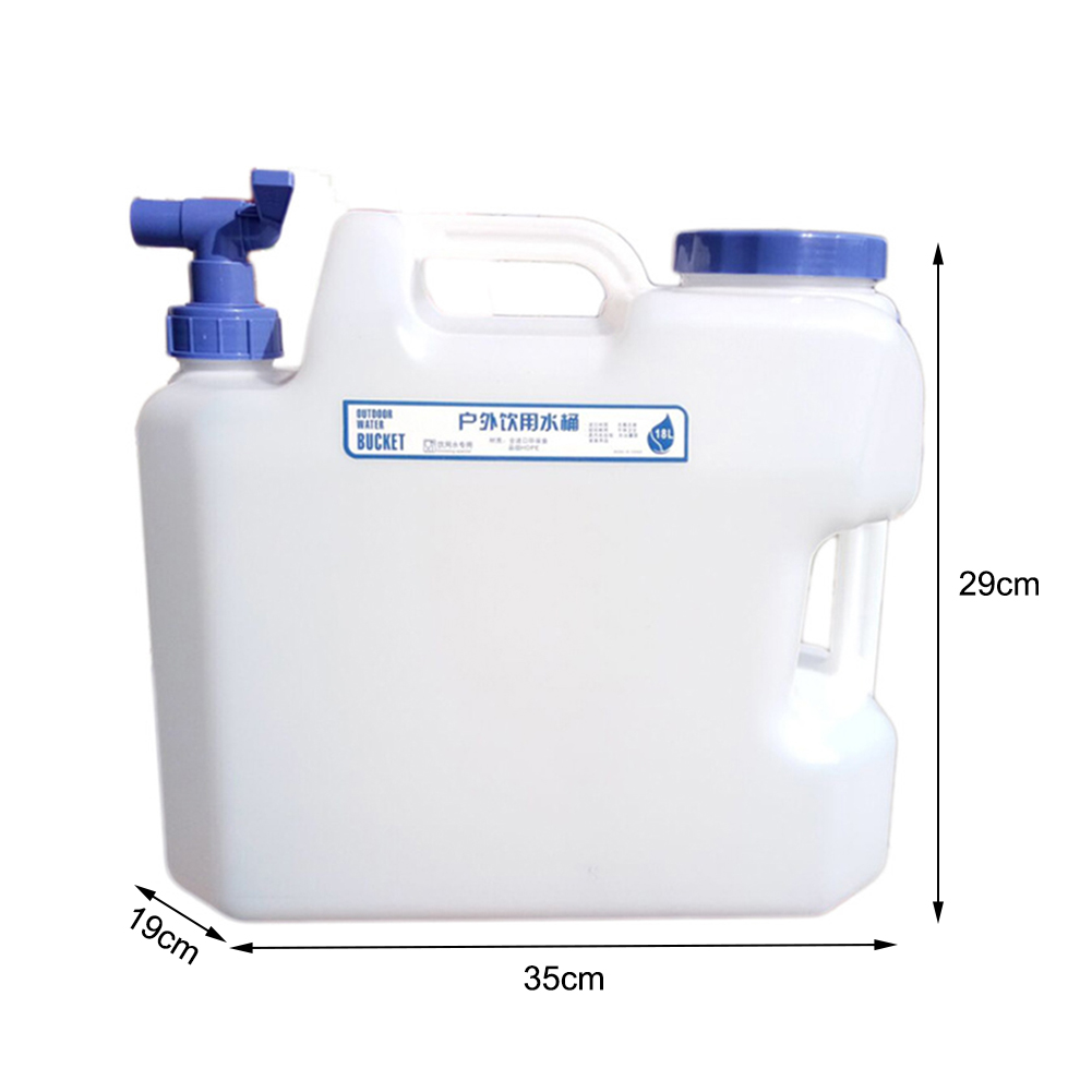15L Camping Storage Bucket Multi-functional Drinking Water Bucket Large Capacity Car Portable Beer Barrel For Outdoor New
