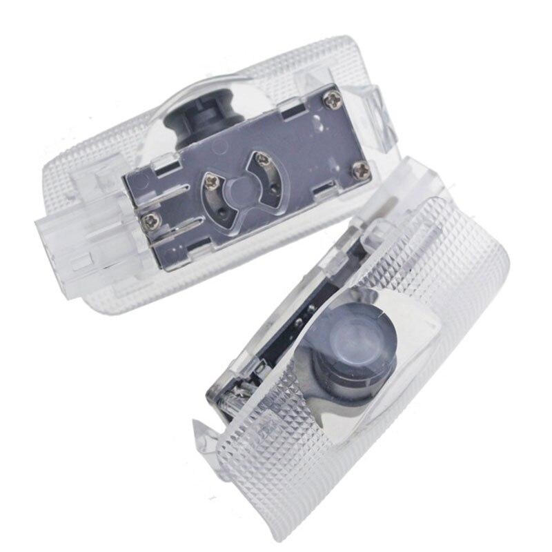 2 шт. светодиодные приветственные лампы для Toyota Camry 07-18 XV40 XV50 XV70 проектор логотипа боковой двери 6000K привидение тени лампы автомобильные аксе...