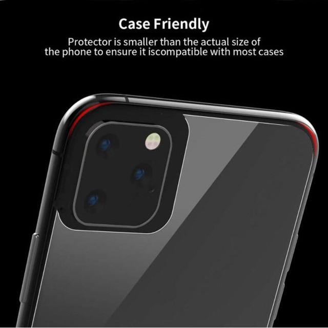 9D avant + arrière arrière + lentille Film de caméra pour iPhone 11 Pro Max 11 2019 verre trempé protecteur de Film d'écran complet pour iPhone 11 2