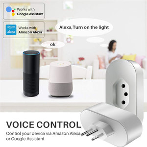 Image 3 - Intelligent Power Plug Brazil 16A Smart WiFi Socket With Energy Monitor APP Remote Control Compatible Alexa Google Assistant