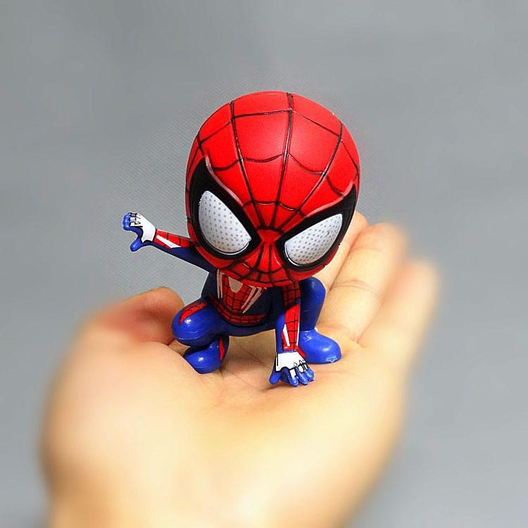 The Return of Disney Heroes Spider-Man Vinyl Doll Decoration Cake Decoration Doll