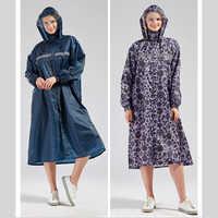 Abrigo largo impermeable para mujer, impermeable, para senderismo, impermeable largo, para hombres y mujeres, impermeable, rompevientos, para viaje