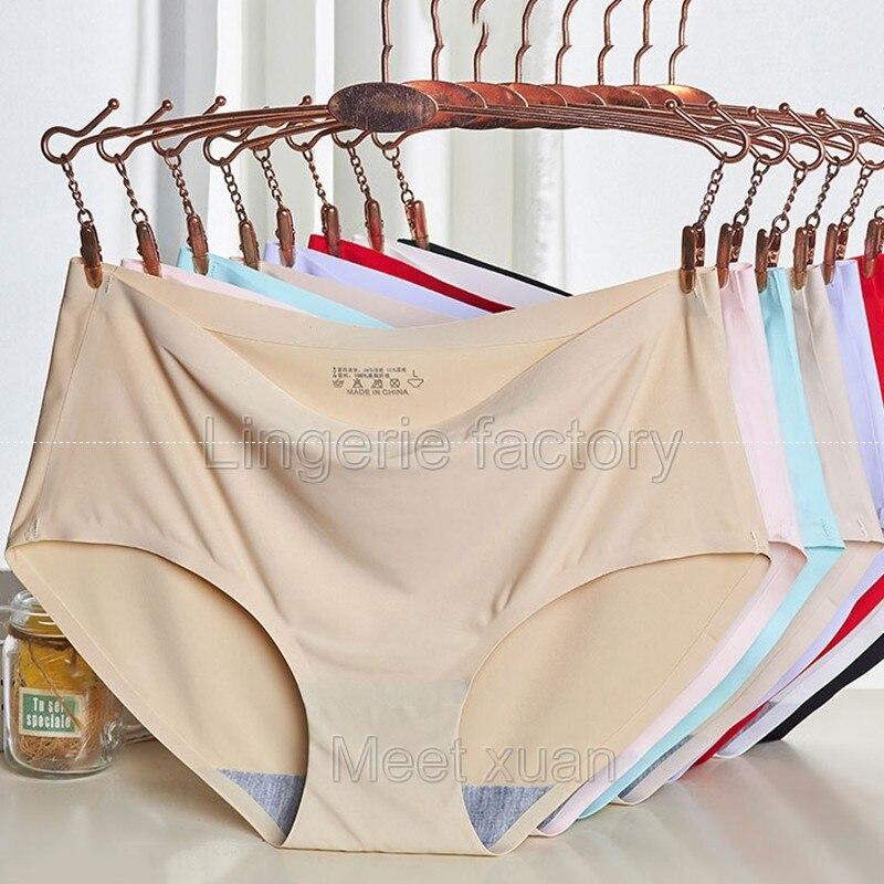 High quality Seamless Briefs Underwear Women   Panties   Traceless One piece Hipster Briefs intimat womens underwear lingerie