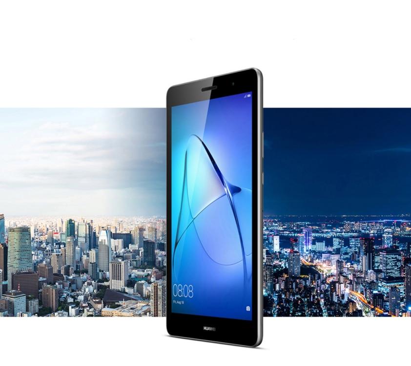 "Küresel sürüm orijinal yeni Huawei MediaPad T3 8 ""KOB-W09 2GB 16GB EMUI 5.1 dört çekirdekli android 7 IPS 1280x800 HD WIFI Tablet PC"