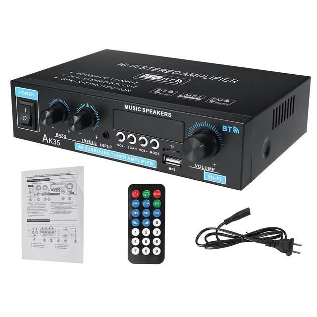 Mini 2.0 Channel Digital Amplifier 110V/220V 400W+400W 4