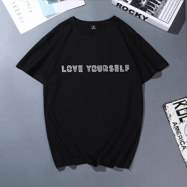 LOVE YOURSELF T-SHIRT (8 VARIAN)