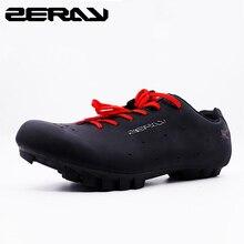 ZERAY E103 MTB נעלי רכיבה גברים של אופניים נעלי אופני הרי נעלי קלאסי שחור רכיבה אביזרי Sapatilha cicllsmo mtb