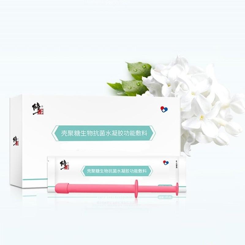 5бр / кутия Вагинален стягащ гел за жени Затягане Противовъзпаление китайско лекарство Медицински продукт Detox смазка