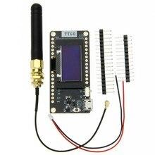 TTGO LORA32 V2.0 433Mhz WiFi Elektronische Modul Für Bluetooth 433Mhz Entwicklung Board Mit Antenne Power Kabel