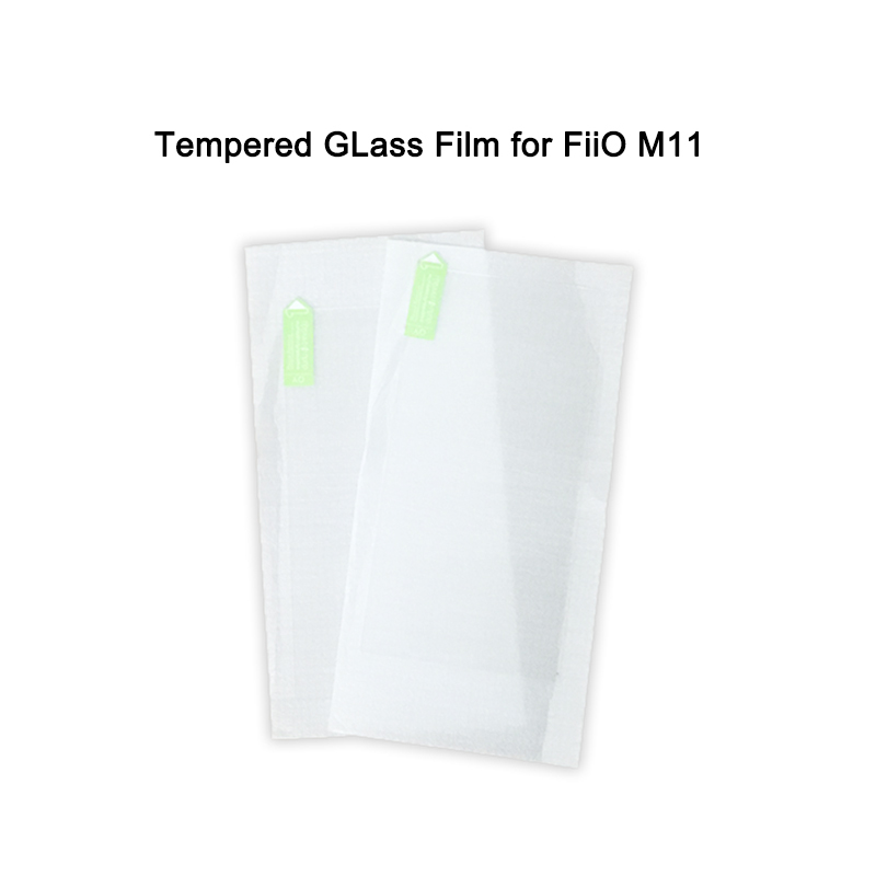 2 Pieces Scratch-Proof Front Screen Tempered Film For FiiO M11 / M11 PRO