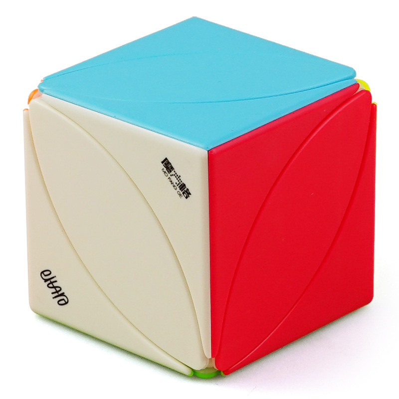 cubo antistress magico profissional Speed Maple Leaf Shaped Magic neo Cubes Puzzle Adult Children Toys game for kids educational in Magic Cubes from Toys Hobbies