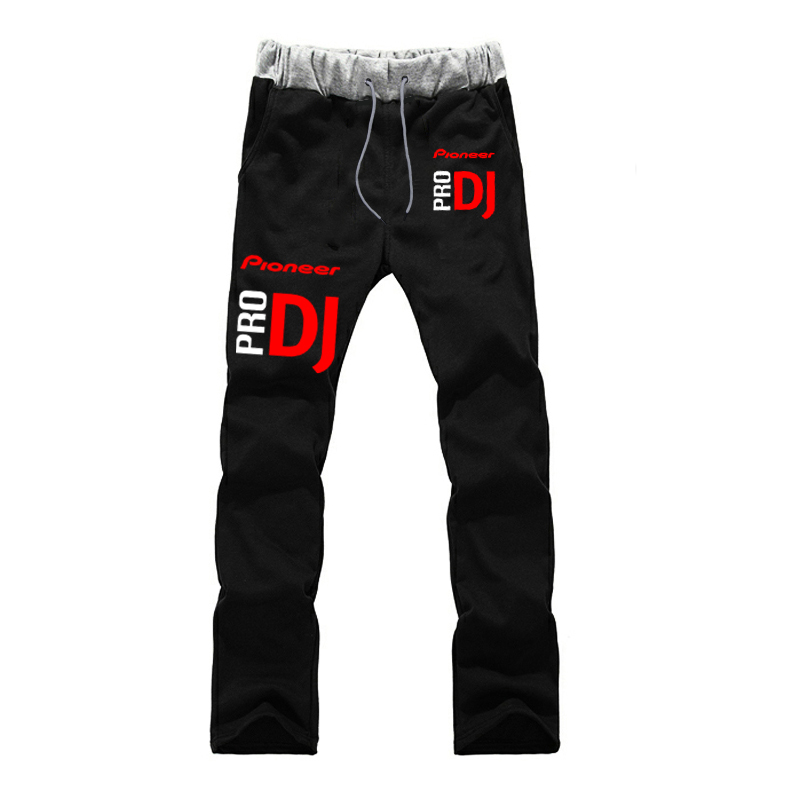 Fashion Pioneer Pro Dj Sports Sweat Breathable Students Beach Print Cotton Straight Pants Fitness Long Trousers Sweatpants New