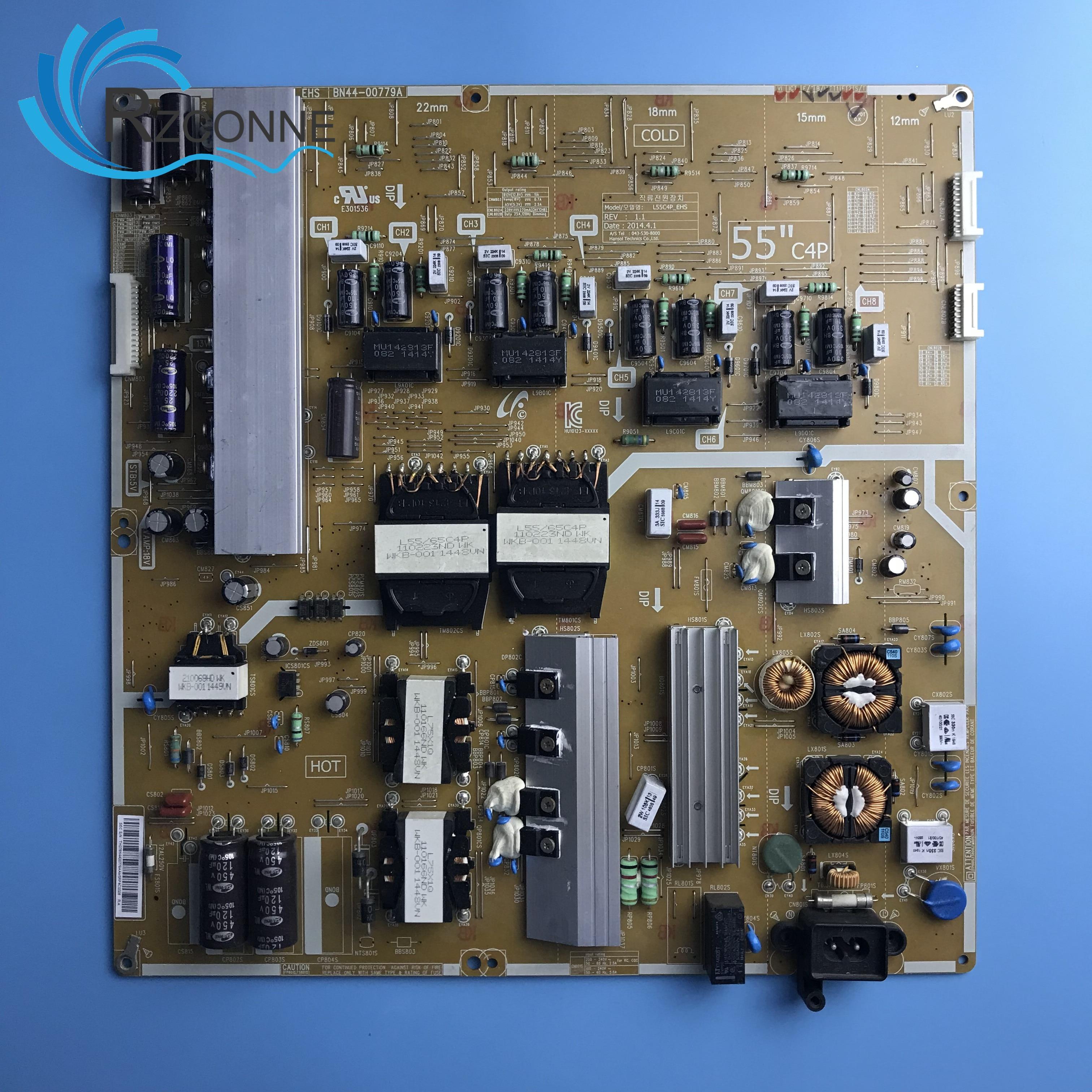 Power Board Card Supply L55C4P-EHS BN44-00779A For 55 Inch Samsung LCD TV UA55HU8800J UE55HU8200