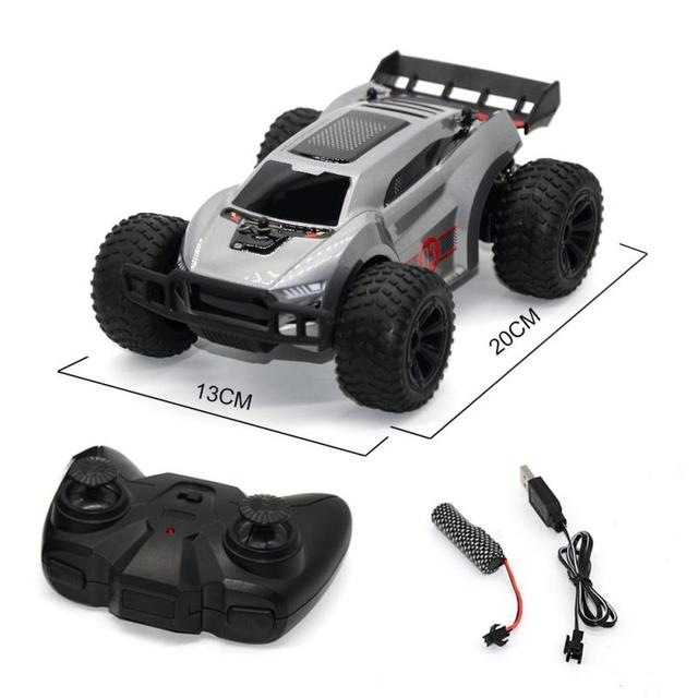 New 2.4G RC Cars Remote Control High-speed Four-wheel Drifting SUV Children's Educational Remote Control Toy kids xmas gifts 2