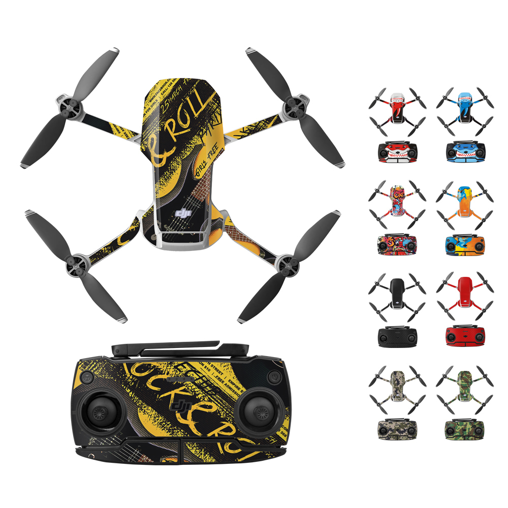 Protective Film PVC Stickers Waterproof Scratch-proof Decals Full Cover Skin Accessories for Mavic Mini