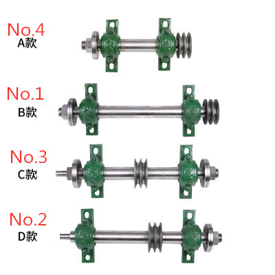 Saw Shaft Spindle Assembly Woodworking Machinery Table Saw Accessories Chainsaw Spindle Saw Shaft Bearing Housing