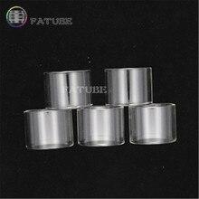 FATUBE Glass tube for Cleito 120 Pro Puxos 5pcs fatube straight glass cigarette accessories for cleito 3 5ml cleito 120 4ml cleito pro 3ml cleito 120 pro 3ml
