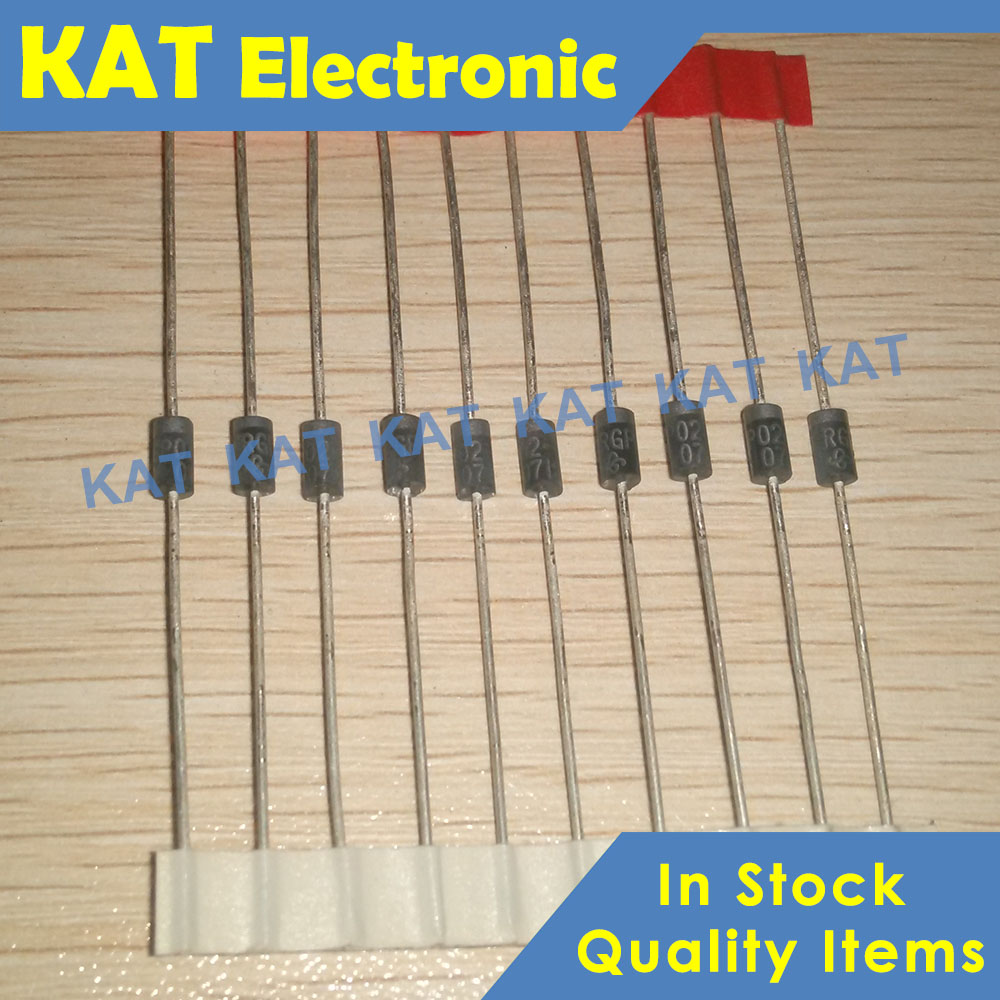 10PCS/Lot RGP02-12E RGP02-12 RGP02 DO-41 New&Original Glass Passivated Junction Fast Switching Rectifier