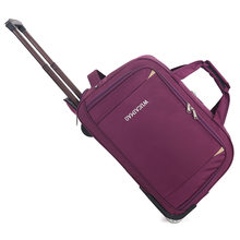 JULY'S DOSAC Trolley Travel Luggage Bag with Wheels Rolling Big Capacity Suitcase Bag Multifunctional Travel Weekend Bag(China)