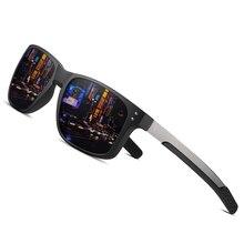 نظارات شمسية أنيقة للرجال من AOFLY بتصميم على شكل مربع بإطار مرن TR90 نظارات شمسية مستقطبة للرجال طراز sonnenbrille طراز UV400