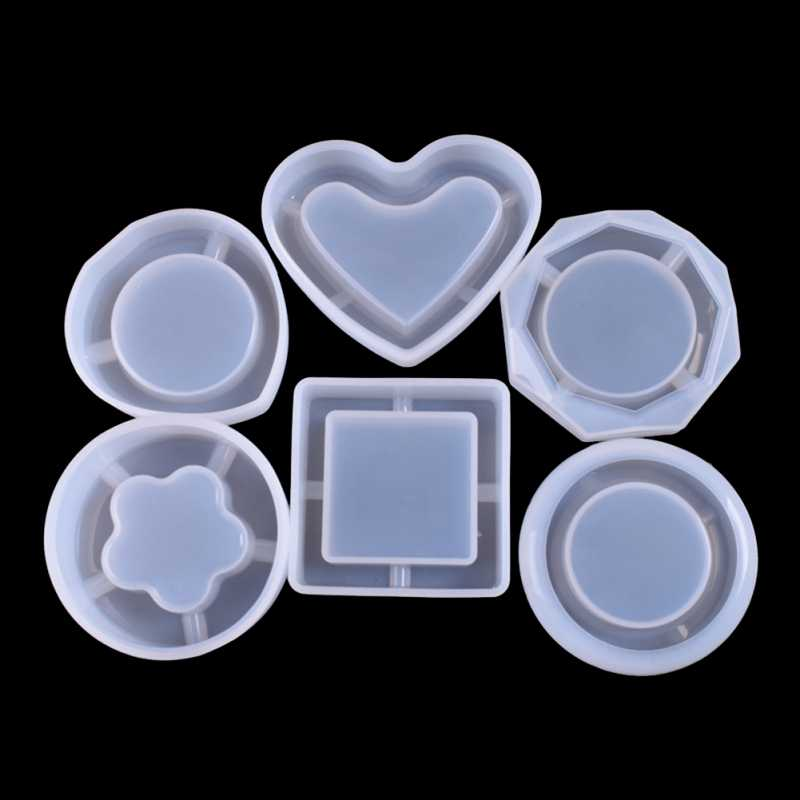Mirror Ashtray Flower Container Ashtray Silicone Mold Food Grade Silicone