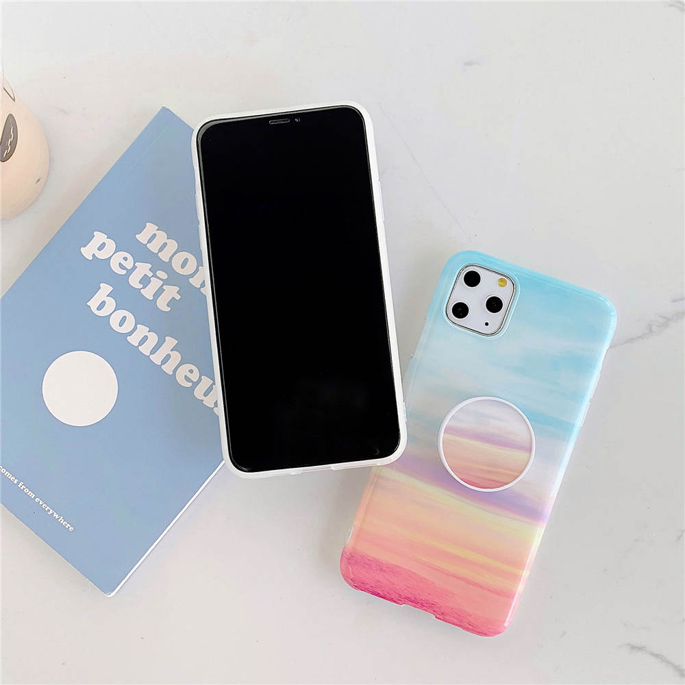Luxury Marble Stand Phone Back Cover Shell For iPhone 11 Pro X XR XS Max 7 8 6 6S 8