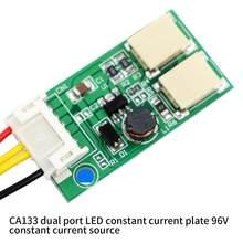 Buck – carte pilote LED CA-133, double Port, courant Constant, sortie 9.6V, câblage de Source de courant Constant