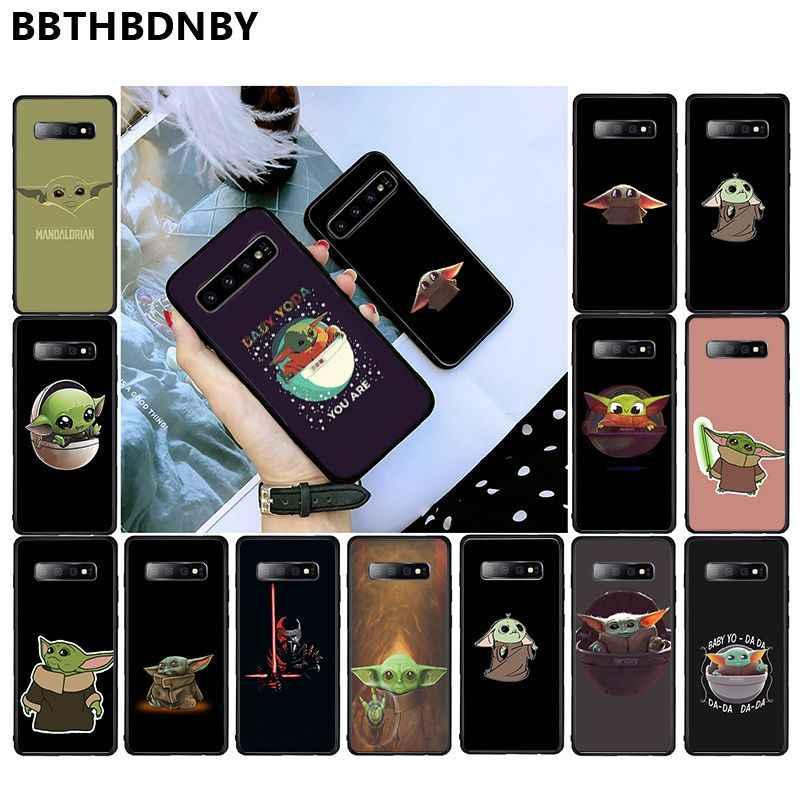 Para Galaxy S9 Pochette bebé yoda Stitch Coque caja del teléfono de la cáscara del teléfono para Samsung S9 más S6 edge plus S7 borde S8 más S10 plus