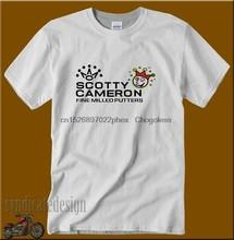 Novo 1scotty cameron logo t camisa de algodão tamanho s-3xl