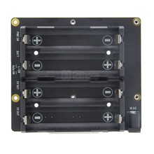 Raspberry Pi 4B/3B+/3B 18650 UPS HAT & Safe Power Management Expansion Board,  X750 Shields for Raspberry Pi 4 Model B/3B+/3B/2B