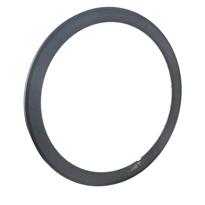 700c clincher carbon wheel tubeless ready 50mm hot carbon bike rims 3k/ud/12k ngt profession sale