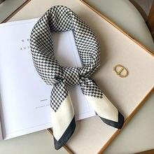 70*70 см модные платок женский шарф на шею для волос небольшой