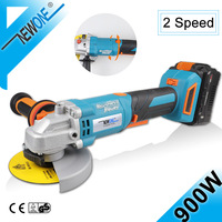 20V4A Brushless 180° Rotatable Angle Grinder Multi Function For Cutting,Grinding and Polishing,With 2 Speed Adjustion Power Tool
