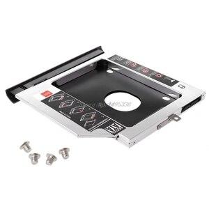 Image 1 - New 2nd SSD HHD Hard Drive Caddy Tray Bracket for Lenovo Ideapad 320 320C 520 330 330 14/15/17 Dropship