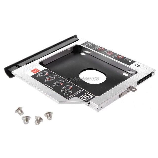 New 2nd SSD HHD Hard Drive Caddy Tray Bracket for Lenovo Ideapad 320 320C 520 330 330 14/15/17 Dropship